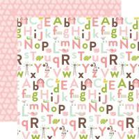 낱장 배경지 Alphabet Antics