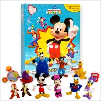 Disney Mickey Mouse Clubhouse : My Busy Books 미키 피규어북