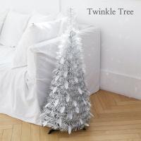3초 뚝딱! 트윙클 트리-실버 90cm/크리스마스 트리