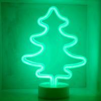 LED 네온전구 조명등 (나무)