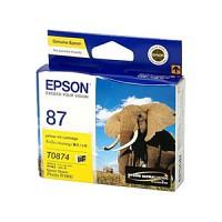 엡손(EPSON) 잉크 C13T087490 / NO.87 / 노랑 / Stylus Photo R1900