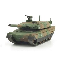 1/72 IR 배틀탱크 (WTS100721CA) 육상자위대 10식전차 탱크