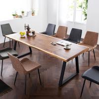[채우리] 모두 8인 뉴송 우드슬랩 식탁세트(의자)