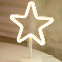 LED 네온 전구 USB 조명등 (별)