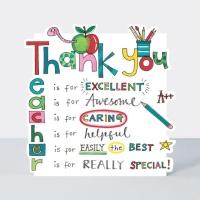 감사합니다 선생님 카드 [CLOUD61]