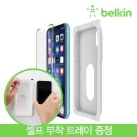 벨킨 아이폰 XR용 템퍼드 곡면 액정필름 F8W916zz