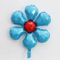 은박 꽃풍선 50cm (라이트블루)
