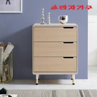 체프 골드 서랍장 600 3단