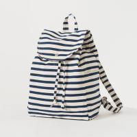 [바쿠백] 드로스트링 캔버스 백팩 Sailor Stripe