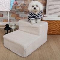 (국산) 애견계단 2단 - 신소재스펀지-보아원단
