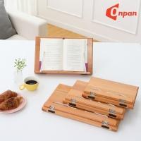 원목 참나무독서대 침나무 책받침대 북스탠드
