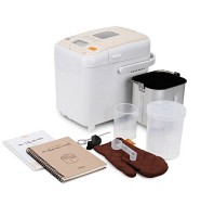 [모뉴엘]제빵기 세트 MHB 500 패키지(레시피+믹스2봉+빵칼+식힘망)/제빵기에 최적화된 15가지 메뉴구성,보온기능,총 35가지 레시피북,LCD 디스플레이,알림음,예약기능