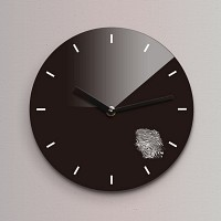 Reflex 무소음벽시계(소) ND161-BK