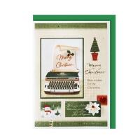 크리스마스카드/성탄절/트리/산타 크리스마스의 메세지 (FS151s-3)