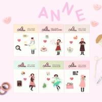빨간머리 앤 에폭시 스티커 (6types)
