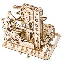 정교한 3D우드 입체퍼즐 타워코스터 마블머신
