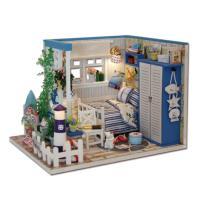 [adico]DIY 미니어처 하우스 - 블루 하우스