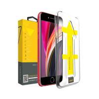 뮤즈캔 아이폰SE2 원터치 6D 풀커버 강화유리필름