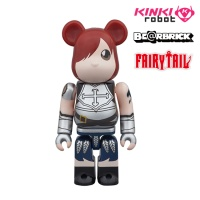 [KINKI ROBOT] 페어리테일 베어브릭 100% BEARBRICK FAIRY TAIL ERZA ANTHOLOGY & COMIC BOOK (1609023)
