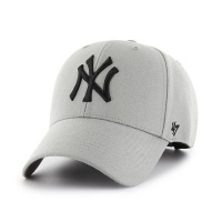 MLB모자 뉴욕 양키즈 그레이 블랙빅로고 스트럭처