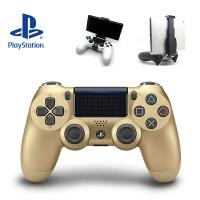 PS4 SONY 듀얼쇼크4 골드 (스마트폰 마운트 포함)