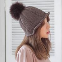 라쿤퍼 울 와이어 벙거지 모자