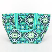[ALL FOR COLOR]LARGE TOTE - PACIFIC SPLASH