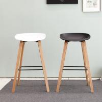 [리비니아]쥴리아 원목 바의자