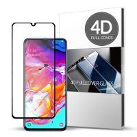 스킨즈 삼성 갤럭시A70 4D 풀커버 강화유리필름 (1장)