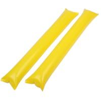응원용 팡팡막대풍선-옐로우(100쌍)