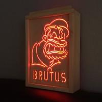 RGB 레트로 감성 부루투스 LED 무드등 (뽀빠이시리즈)