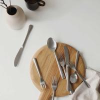 Matt silver - 05 Cake fork