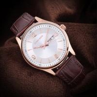 도나소피아 DS004  남성 손목시계 가죽밴드 스포츠