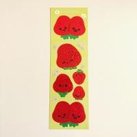 미니왕 딸기들 홀로그램 스티커