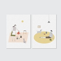 Slow life_card set