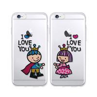 달라라삼 왕관 커플투명케이스-갤럭시노트3(N900)