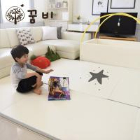 [꿈비 짱짱매트] 변신 범퍼침대매트-큰별(5단폴더2개) / 놀이방 아기유아매트