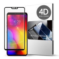 스킨즈 LG V40 4D 풀커버 강화유리 필름 (1장)