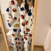 [커플 파자마] 엘모 극세사 수면 잠옷 세트