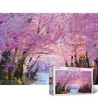 봄의 벚꽃길 [1000피스/직소퍼즐/풍경/PL1387]