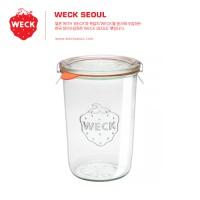 WECK 독일 웩 밀폐 유리용기 몰드 형 850ml (WE743)-PE마개 L