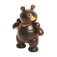[MUFUN DESIGN] WOODEN FIGURES FORMOSAN BLACK BEAR