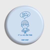 [어프어프] 손거울 Don't worry about him-sky blue