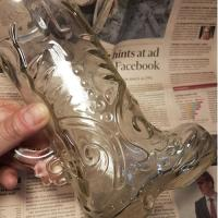 Western Boot Beer Glass 1P