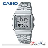 카시오 CASIO (A500WA-7DF/메탈밴드)