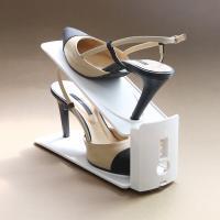 좁은현관 공간활용 높이조절 슈즈렉 신발 수납정리대