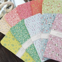 FB501 꽃 인쇄 봉투 50장세트