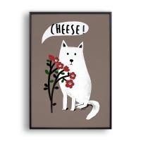 Cheese / 일러스트 액자