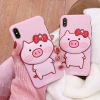아이폰11 맥스 프로 핑크 돼지 입체 캐릭터 폰케이스
