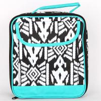 [ALL FOR COLOR]LUNCH TOTE - AZTEC IKAT